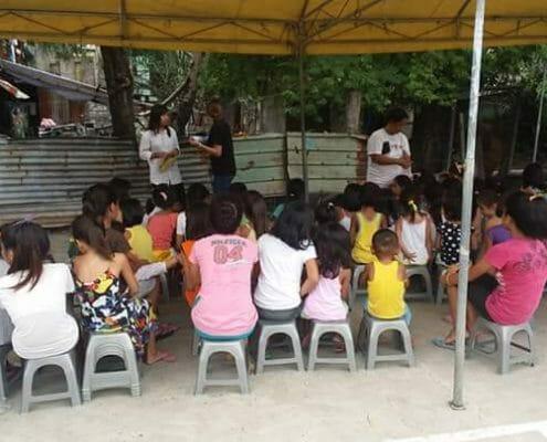 LDS - HAPI Literacy class