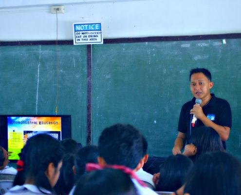 Hermz Gacho, Education Director of the Eco School Project