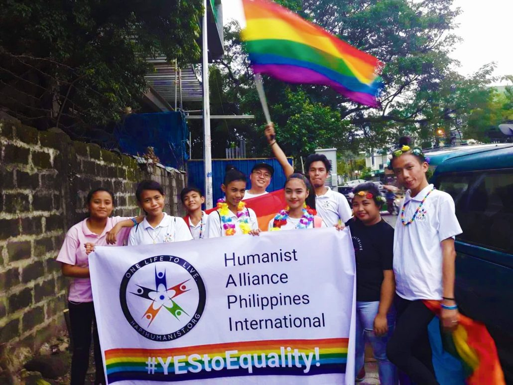 HAPI during QC LGBT Pride March