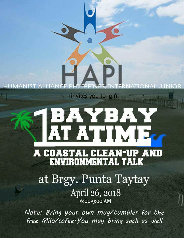 HAPI Junior shows love for nature through a coastal clean-up and an environmental talk