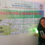 HAPI Green Movement and Eco-Tabang hold solar lamp workshop