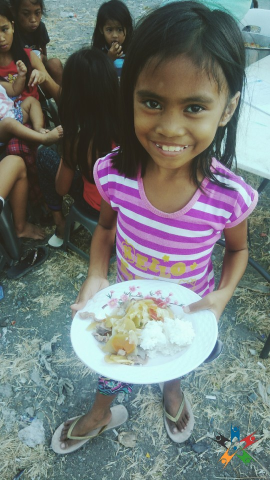 HAPI Kid is served the 'Nutritious Meal of the Day'