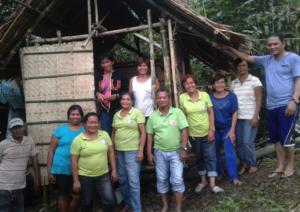 EGCI and HAPI Homes replace shanty of needy laundress