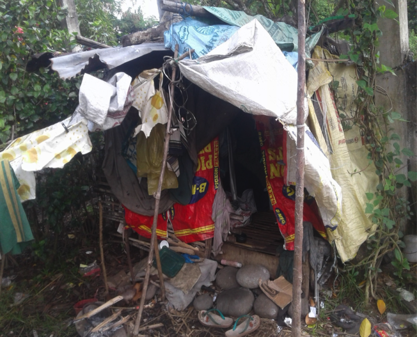 EEGCI and HAPI Homes replace shanty of needy laundress