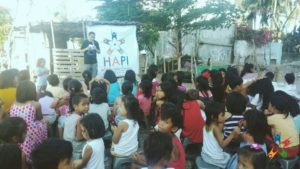 HAPI Kids listen to Anti-bullying Talk