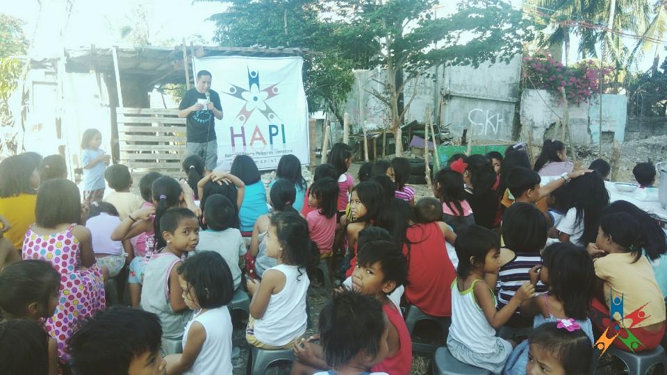 HAPI Kids listen to Anti-bullying Talk