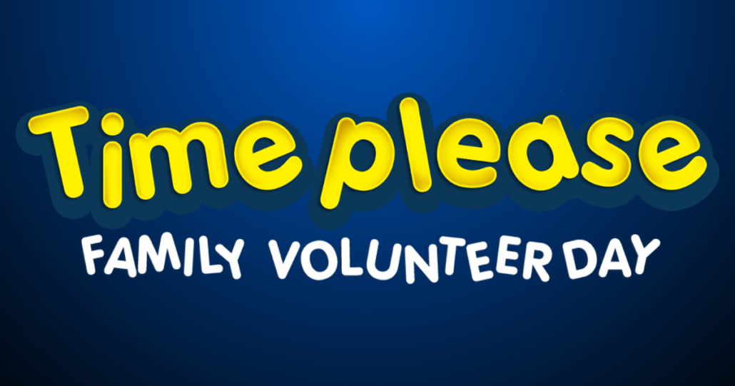 HAPI at Time Please Family Volunteer Day
