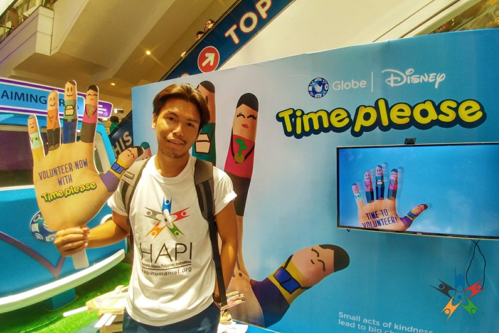 Time Please and HAPI promote family volunteering