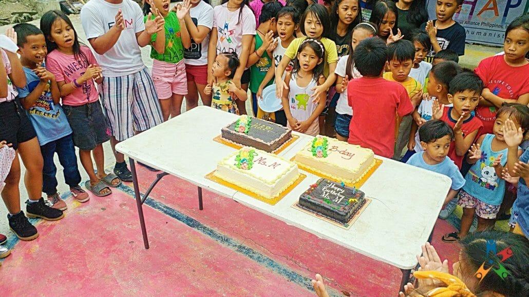 Kids NutriCamp celebrates birthday of HAPI Founder