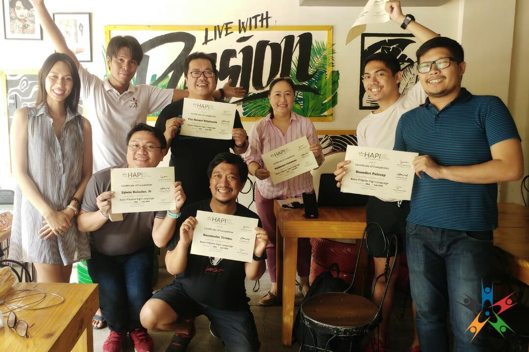 HAPI opens Filipino Sign Language classes to public