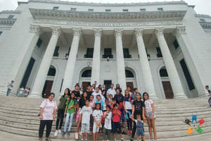 HAPI kids visit the National Museum of Natural History