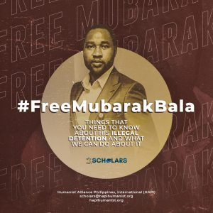 HAPI Scholars called for the release of Mubarak Bala