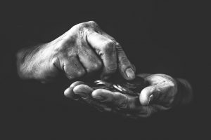 poverty, black and white, emotion
